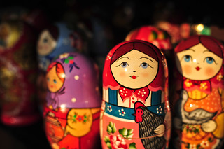 Matryoshka Dolls (Russian Nesting Dolls) | by goingslowly