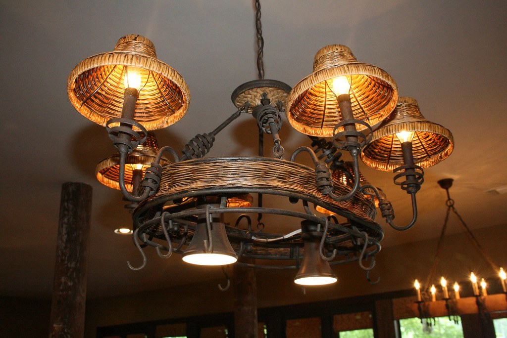 Kitchen Island Lighting In Champagne Bronze