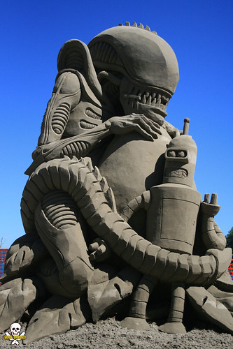 Alien vs Bender low front | by Grain Damaged