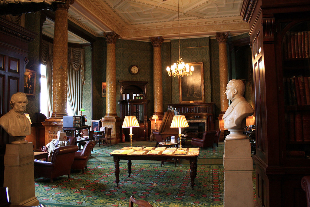 Farmers Club Whitehall Court Dinning Room Booking
