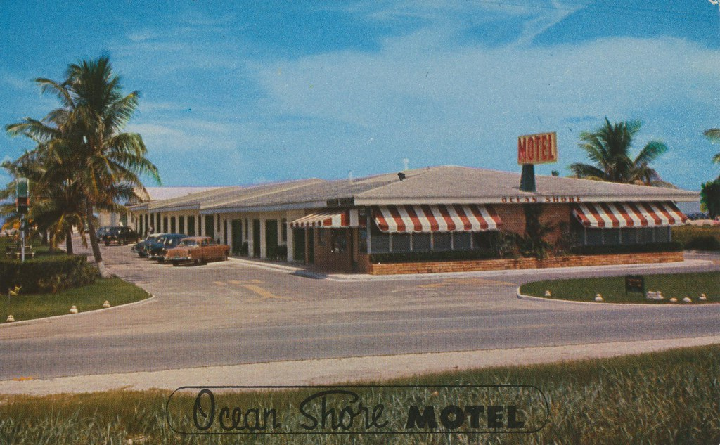 Ocean Shore Motel - Miami Beach, Florida
