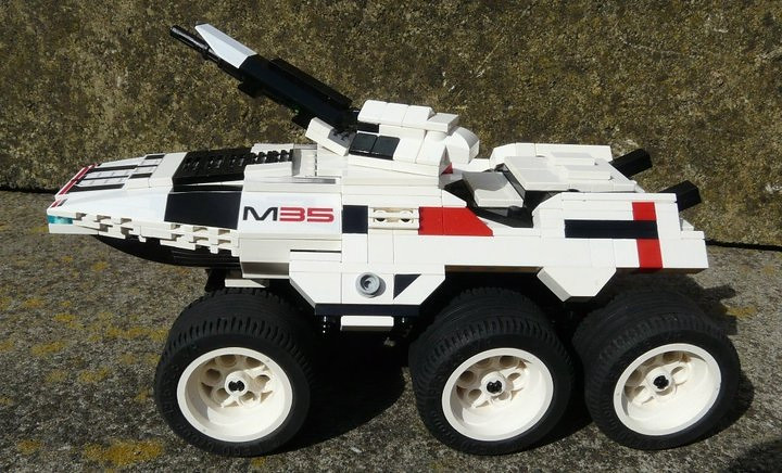M35 Mako In Lego This Is My Mako From Mass Effect It