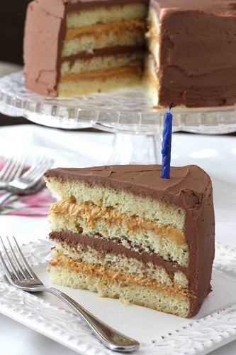 Chocolate & Dulce de Leche Birthday Cake Recipe | by CookinCanuck