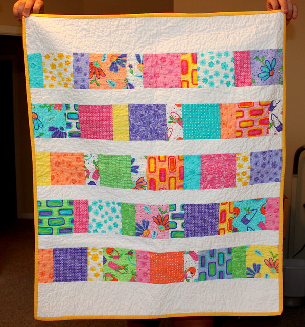 charm pack baby quilt flickr photo