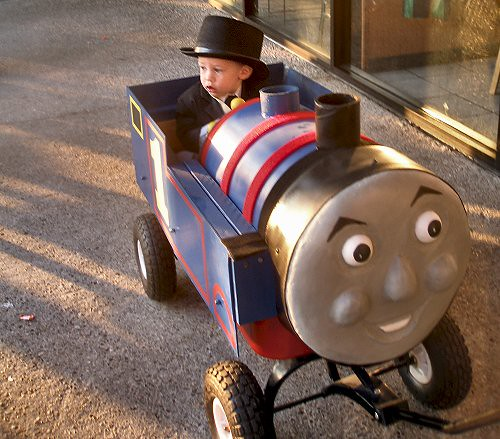 ... Sir Topham Hatt and Thomas the Tank costume | by Paper soup  sc 1 st  Flickr & Sir Topham Hatt and Thomas the Tank costume | Joey | Flickr