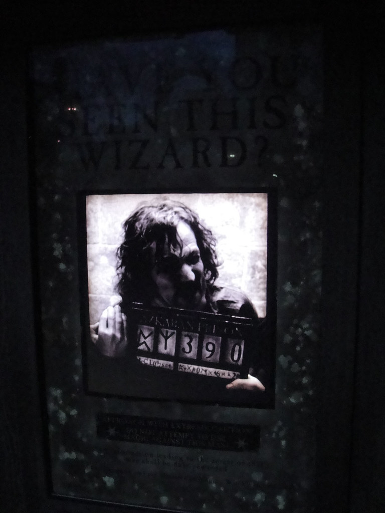 Wizarding World Of Harry Potter Sirius Black Moving Want Flickr