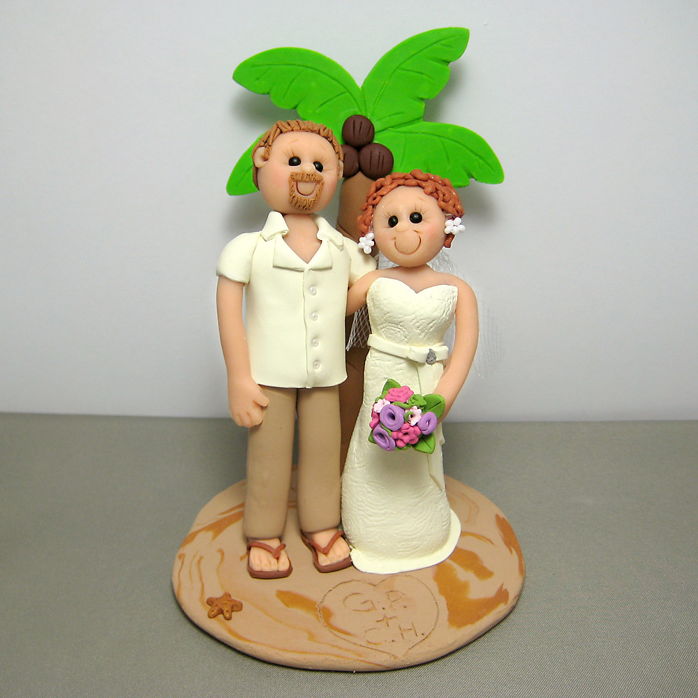 clay wedding cake toppers polymer clay wedding cake topper handmade using polymer 12879