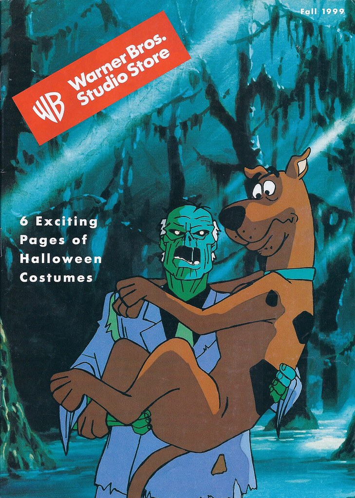 warner bros studio store scooby doo catalog 1999 cover fr flickr. Black Bedroom Furniture Sets. Home Design Ideas