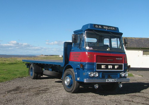 ERF on the  Solway Coast. | by Leyland 600