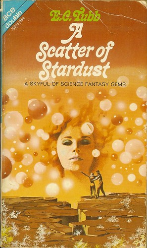 E.C. Tubb - A Scattering of Stardust - Ace Double 79975 - cover artist Karel Thole