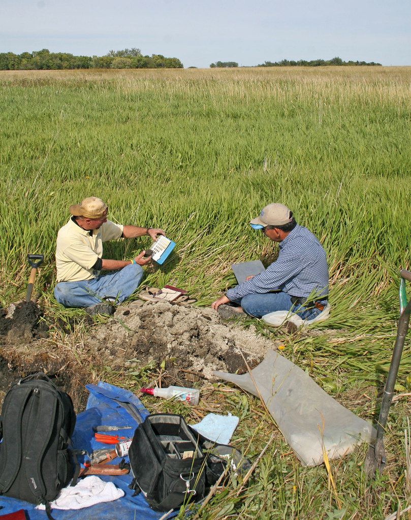 Soil scientists at work 8 soil scientists are actively for Soil scientist