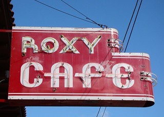 MI, Jackson-U.S. 127(Bus) Roxy Cafe Neon Sign | by Alan C of Marion,IN