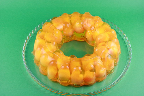 Cantaloupe and Pineapple Jello Bundt - I Like Big Bundts | by Food Librarian