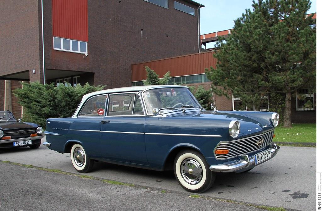 Four Door Convertible >> 1960 Opel Rekord P2 (02) | The Rekord P II grew in size ...