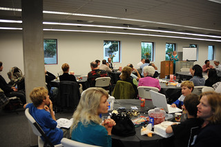 Faculty, staff, and family at the 2009 Celebration of Faculty Accomplishments | by California State University Channel Islands