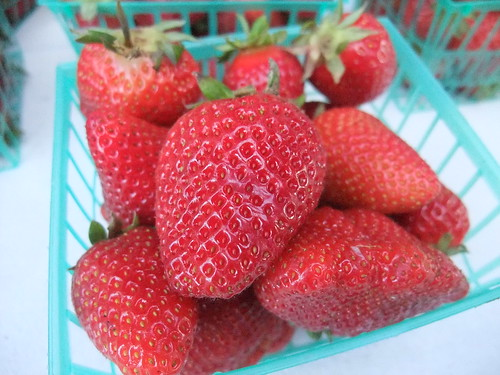 SFO Day 2: Strawberries from the Ferry Plaza Farmers Market | by swampkitty