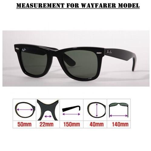 New Ray Ban Wayfarer Sizes