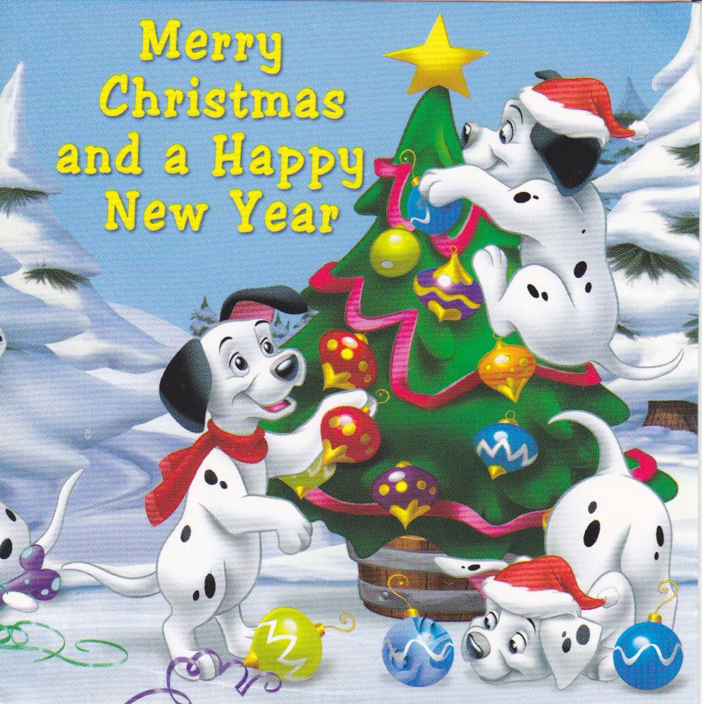 101 Dalmations Christmas Card | 2010 Christmas Card RR 44 fr… | Flickr