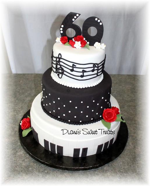 Birthday Cake Images For Diane : 60th birthday cake Flickr - Photo Sharing!