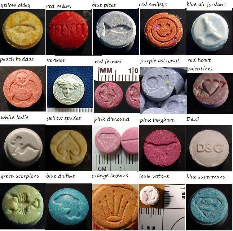 ecstasy pills there are many different ecstasy pills that flickr