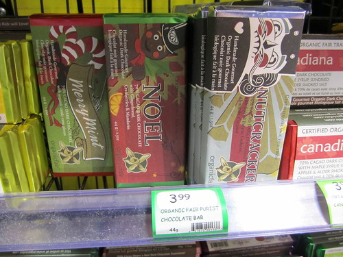OrganicFair Bars - Holiday Flavours | by veganbackpacker