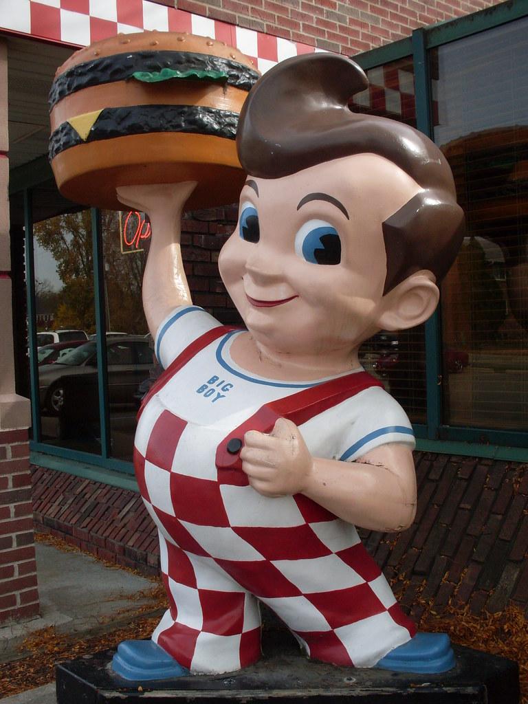 ... Michigan - Big Boy Statue | by Darrell Harden - 5214782337_a6009df819_b