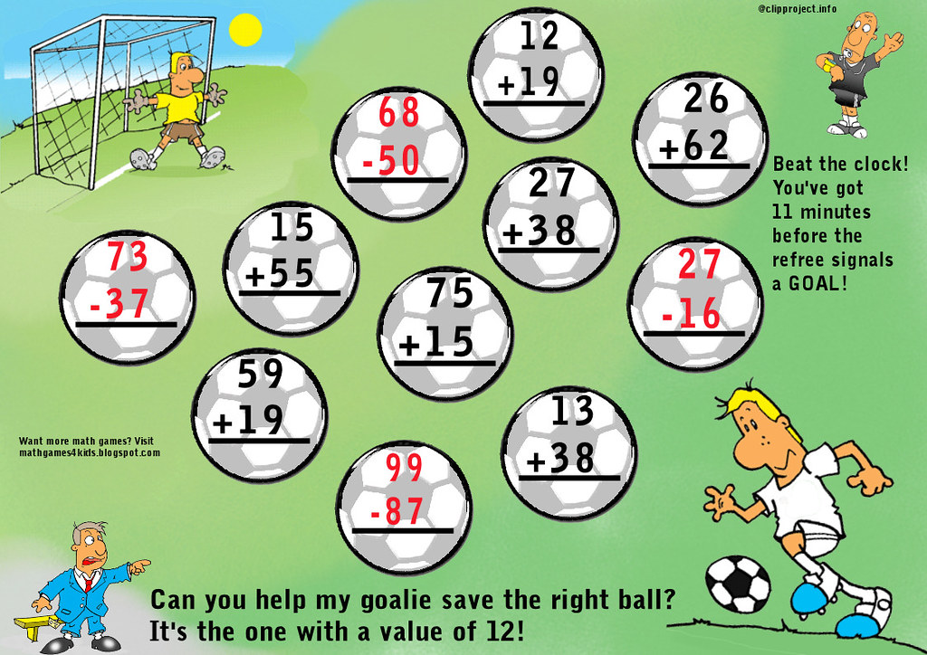 Multiplication Chart 100: Soccer math game | I thought about pushing the concept furthu2026 | Flickr,Chart