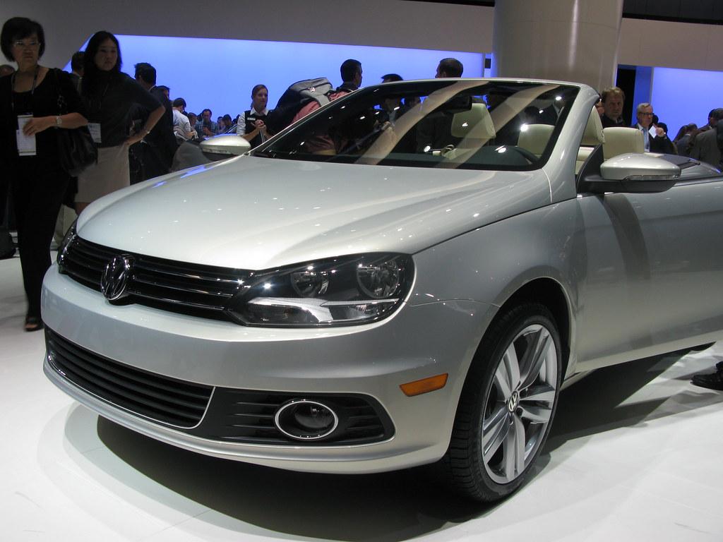 LA Auto Show VW Eos Heidi Klum Click Here For Full Article Flickr - Eos car show