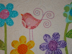 applique pillow cover by sewcraftyjess