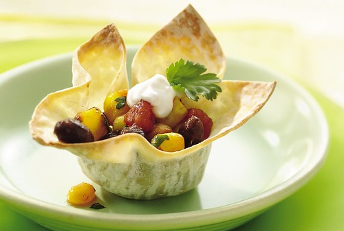 Black Bean and Corn Wonton Cups Recipe | by Betty Crocker Recipes
