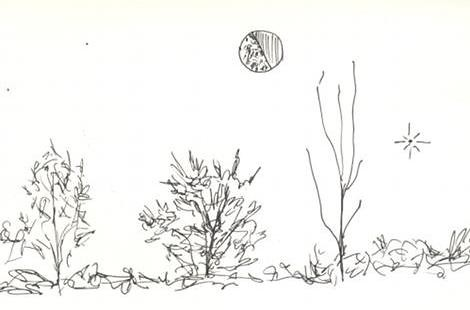 field sketch moon july 4th 2010 | by nitrohepcat
