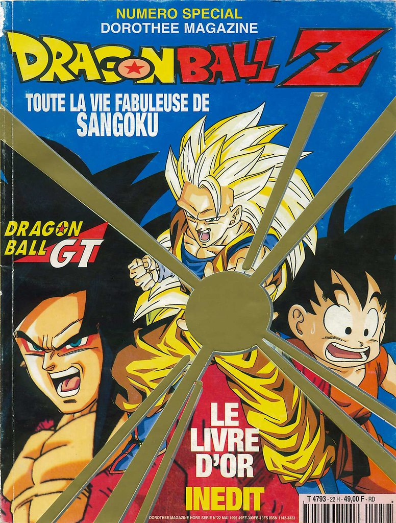 magazine dragon ball z doroth e magazine le livre d 39 or inedit fr flickr. Black Bedroom Furniture Sets. Home Design Ideas