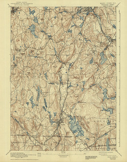 Webster Quadrangle 1892 - USGS Topographic Map 1:62,500 | by uconnlibrariesmagic