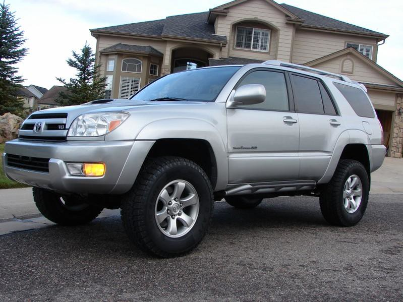 Awesome 4runner With 3in Toytec Lift 285 70 17 S Spider