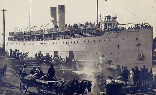 SS Eastland docked | by Eastlake Victorian