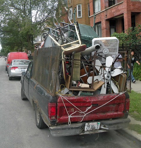 Truck Bed Full Of Junk