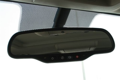 Rearview And Onstar Controls In The All New 2011 Gmc Sierr