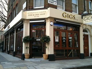 Gigs Fish & Chips, Fitzrovia | by Fitzrovia News
