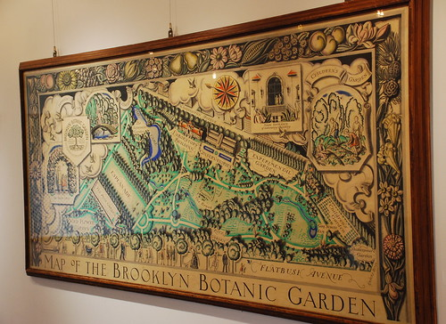 Old Garden Map Brooklyn Botanic Garden Brooklyn Ny Adam Fagen Flickr