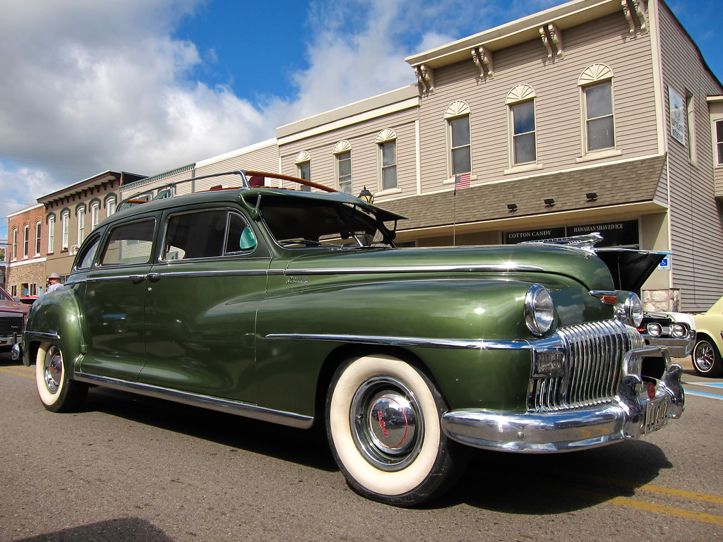 Suburban Roof Rack >> 1948 DeSoto Suburban | The downtown Grass Lake buildings ser… | Flickr