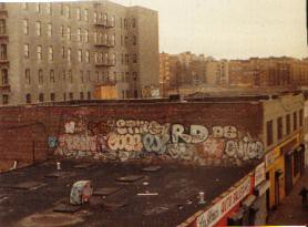 Cope 2 Pj De3 Rd357 Enice Graffiti Roof Top In Bronx 1980