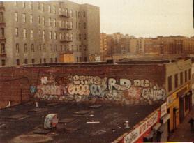 Cope 2 Pj De3 Rd357 Enice Graffiti Roof Top In Bronx 1980
