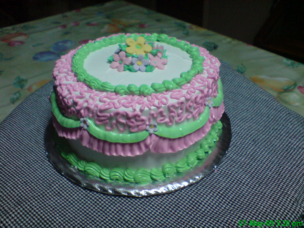 mini cake boiled icing Awi Chaves Flickr