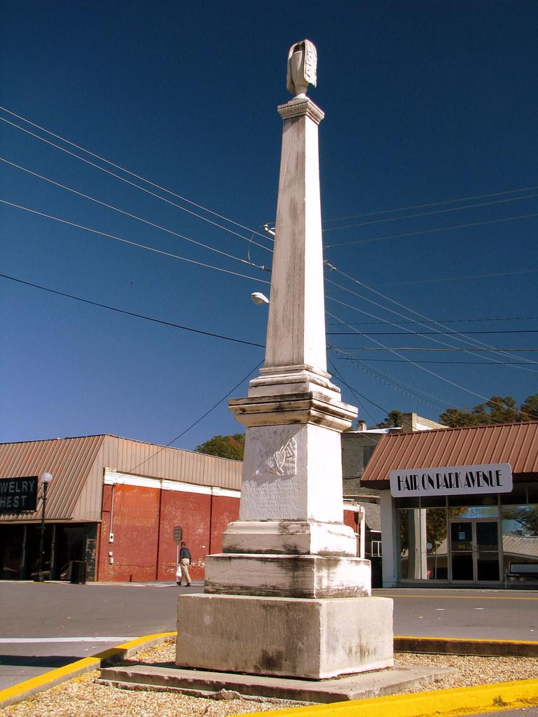 Calhoun Ga Gen Nelson Monument