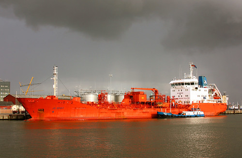 tanker jo spirit with crude alcohol for the bacardi depot