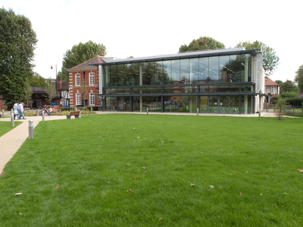 Enfield Town Enfield Town Library | by