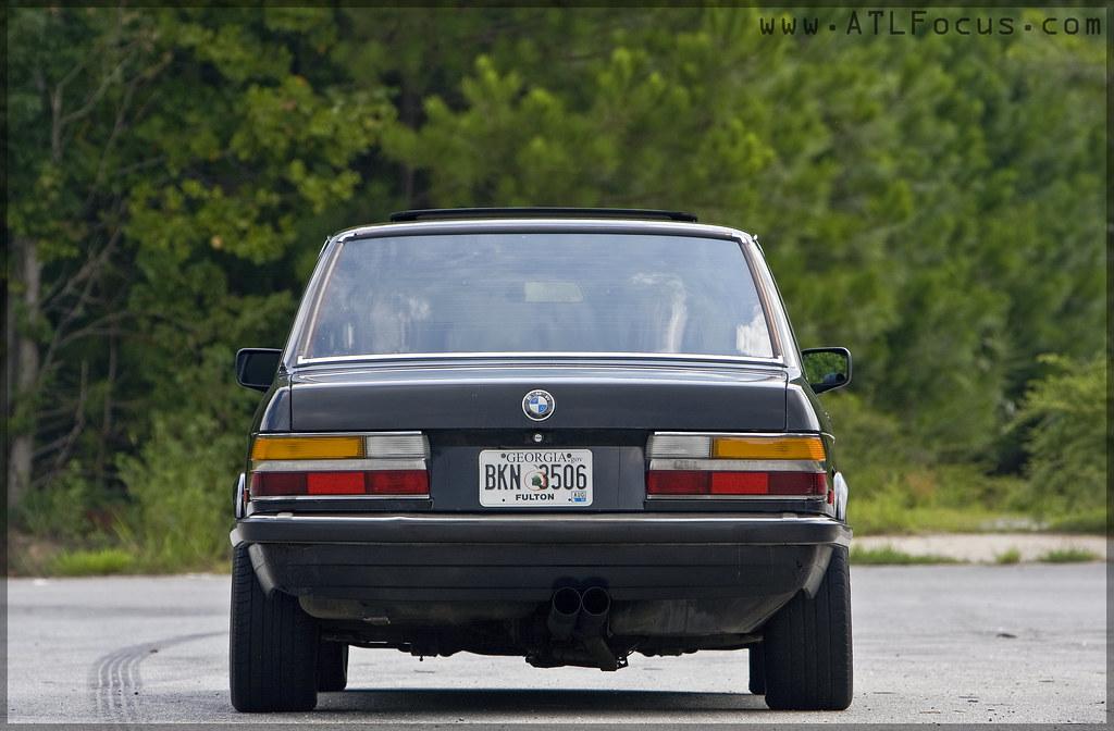 Bmw E28 528e Euro Bumpers Style 5 Bbs Black 3 Halston