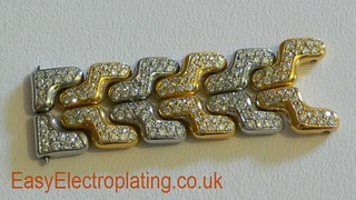 Tag Heuer Diamond Bracelet Completed | by EasyElectroplating