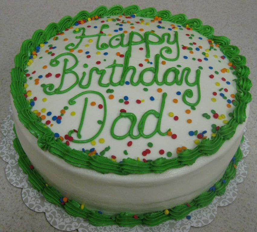 Birthday Cake Dad