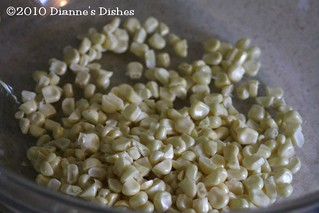 Creamed Corn: Corn Kernels | by Dianne's Dishes